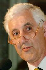 Mike Brearley — former England captain and psycho-analyst