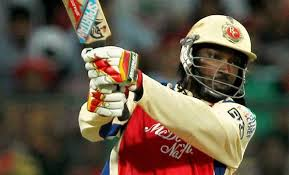 Chris Gayle — like to see him reach 100 in 30 balls at a cold and damp Old Trafford!