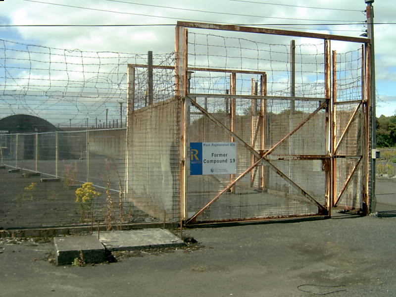 The Last Walk for Bobby Sands: the entrance to Compound 19, HM Maze Prison
