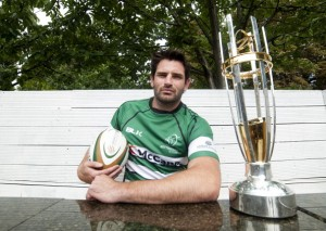 Hat-trick hero: Nottingham captain Brent Wilson