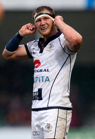 Try scorer: Bristol's Nick Koster