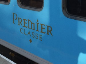 Premier Classe — blue but not the bank balance busting Blue train