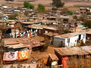 Soweto — largest township in South Africa