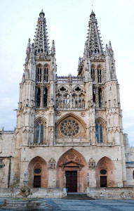 Burgos Cathedral — the place to send an Irish hitman?