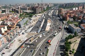 The Madrid ring road — no great horrors this time