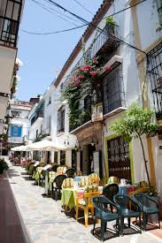 Marbella old Town — home to the Villa Marbella and my salvation