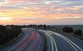 The joy of European motoring  — no traffic