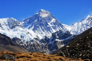 Everest from the Nepali side. The other side is Tibet... not China