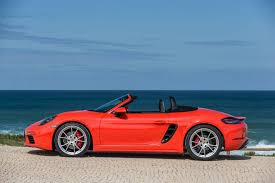 The new Boxster 718S — truly a fine thing and a good way to pass a dull morning