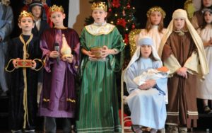 Little Daisy's Nativity play