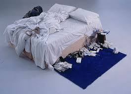 Tracey Emin — Started all this nonsense with a floordrobe